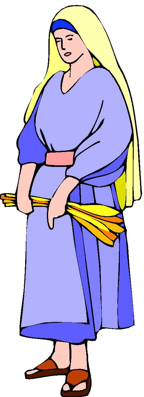 Bible characters clipart woman